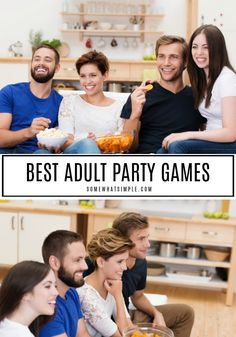 Whether you're playing with just a few friends or a huge crowd of couples, these adult party games are sure to entertain! party games The 11 BEST Adult Party Games Dinner Party Games For Adults, Party Games Group, Pool Party Games, Birthday Party Games, Adult Party Games For Large Groups, Beach Games, Party Party, Games For Teens, Adult Games