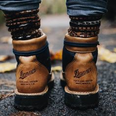 """coffeentrees: """" @americantrench's fair isle socks and our Danner Light Cascades…"""