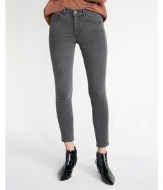 High Waisted Metal Grommet Stretch Ankle Jean Leggings, Women's Size:18 Short