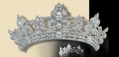 The Rundell Diamond Tiara.The Danish Princess Alexandra was given this masterwork as part of a parure by her groom the future King Edward VII on the occasion of their marriage in 1863.