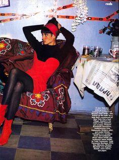☆ Christy Turlington | Photography by Arthur Elgort | For Vogue Magazine US | September 1990 ☆
