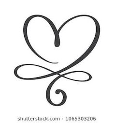 Heart Love Sign Forever Infinity Romantic Stock Vector (Royalty Free) 1061242346 - Heart Love Sign Forever Infinity Romantic Stock Vector … You are in the right place about healt id - Infinity Tattoos, Wrist Tattoos, Body Art Tattoos, Small Tattoos, Tatoos, Infinity Tattoo With Names, Infinity Signs, Infinity Art, Infinity Tattoo Designs