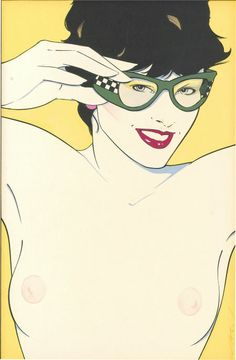 Patrick Nagel Playboy Illustration Heritage Auctions Search [50 790 231]