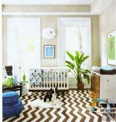 18. #Green It up - 34 Baby Nursery #Ideas That You're Going to Love ... #Traditional