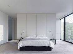 Idee per arredare la camera da letto in bianco e nero n.18