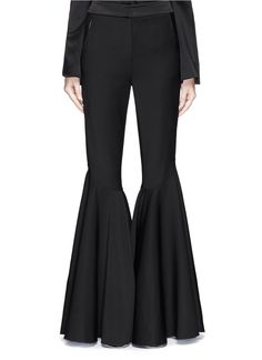 ELLERY 'Jacuzzi' extra wide wool flare pants