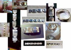 Rodrigo Otazu 925 Sterling Silber-Armband  Massiv ca.220 Gramm. UNIKAT