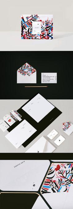 "Empfohlenes @Behance-Projekt: ""ALBA SUAREZ / branding"" https://www.behance.net/gallery/48880743/ALBA-SUAREZ-branding"