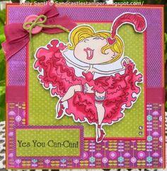 card using a Kraftin Kimmie stamp :)