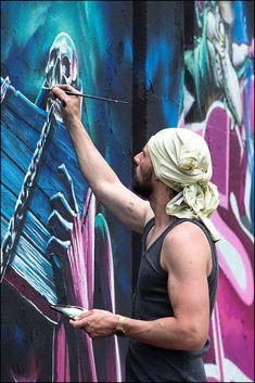 Graffiti, Step in the Arena 2015, Eindhoven