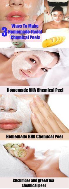 Ways To Make Homemade Facial Chemical Peels