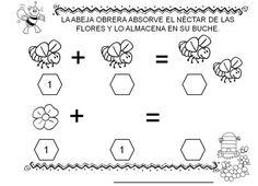 matemáticas con abejas infantil - Buscar con Google