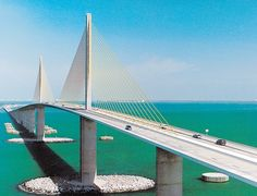 The majestic Sunshine Skyway.