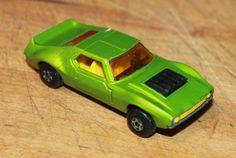 1972 Lesney Matchbox AMX Javelin no. 9 Bright Green Very Nice! Loose #LesneyMatchbox #AMX