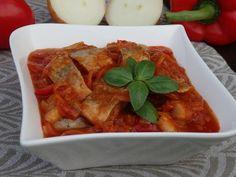 Monia miesza i gotuje: Śledzie w sosie salsa Calzone, Salsa, Thai Red Curry, Ethnic Recipes, Kitchen, Diet, Pisces, Cooking, Kitchens