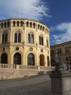 Stortingsbygningen, Oslo, Norway