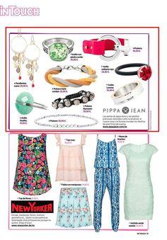 Aparición en la revista In Touch. #moda #modamujer #prensa #joyas #bisuteria #pippajeans #pippaandjeans #revista #periodico #tv
