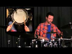 How To Play A Double Stroke Roll - Drumming Rudiments and Drum Lessons - YouTube
