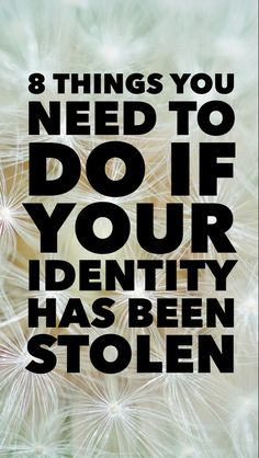 How to protect yourself from identity theft. Identity Theft Prevention, Identify Theft, Credit Bureaus, Security Tips, How To Protect Yourself, Life Advice, Going Crazy, Knowing You, Finance