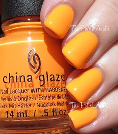 The PolishAholic: China Glaze Summer 2015 Electric Nights Collection Swatches & Review Home Sweet House Music