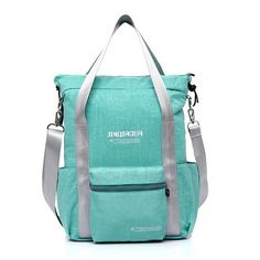 Women 40L Nylon Light Handbags Backpack Girls Waterproof Large Capacity Tote Bags Students Book Bags