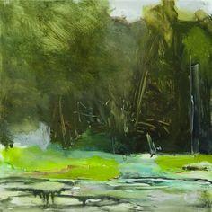 Lily Pond & Dark Woods