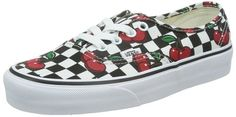 Vans U Authentic Cherry Checkers, Unisex-Erwachsene Sneakers, Mehrfarbig (cherry Checkers/black/true White), 35