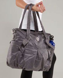 1143b6ffe2 Lululemon triumph tote. Got it in black, great gym and even everyday bag  Lululemon