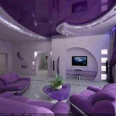 Purple room :-)