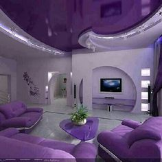 Purple room :-)