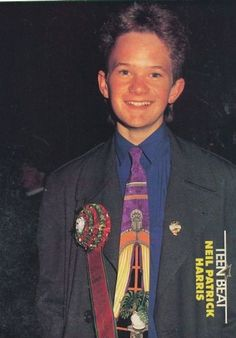 Neil Patrick Harris apparently winning first prize at the mullet competition or something: 33 pictures that should be left in the David Burtka, 90s Childhood, Childhood Photos, Childhood Memories, Neil Patrick Harris, Dump A Day, Fear The Walking, Himym, How I Met Your Mother