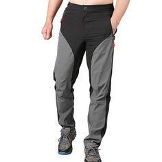 Outdooors Climbing Casual Fashion Pants Men's Quick Drying Waterproof Light Weight Trousers