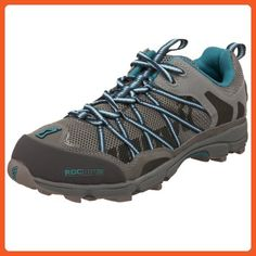 Inov-8 Women's Roclite 268 Trail Running Shoe,Grey/Teal,5 M - Athletic shoes for women (*Amazon Partner-Link)