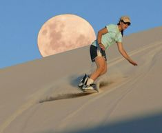 Sandboarding, a Rush of Adrenaline Filling Up Arid Spaces
