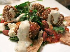 Yotam Ottolenghi's Falafels ( & Salad)