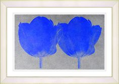 Twin Tulips Canvas by Zhee Singer Painting Print on Canvas