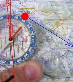 Here's A Thorough Yet Simple Explanation On How To Use A Compass And Map. http://www.thegoodsurvivalist.com/heres-a-thorough-yet-simple-explanation-on-how-to-use-a-compass-and-map/ #thegoodsurvivalist
