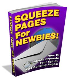 squeeze pages for newbies ebook