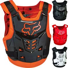 Fox Racing ProFrame LC Mens Motocross Roost Guard