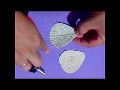 como fazer frisadores p e.v.a com cola quente, video 1
