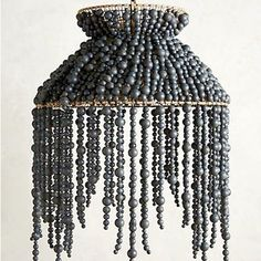 I would be just a little happier to switch on the light every day if it was shaded in this beauty from @anthropologie
