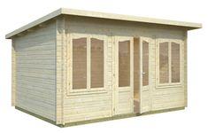 Lisa 11.5sqm log cabin
