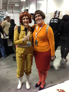 April O'Neil and Velma Dinkley Cosplay