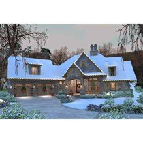 Not what we need, but loooove the look of this house! Cottage Craftsman French Country House Plan 75134 SO CUTE French Country House Plans, Craftsman Style House Plans, Cottage House Plans, Dream House Plans, Cottage Homes, House Floor Plans, My Dream Home, Craftsman Cottage, Rustic Home Plans