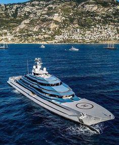 Big Yachts, Super Yachts, Luxury Yachts, Luxury Boats, Sport Yacht, Yacht Boat, Yacht Design, Boat Design, Yachting Club