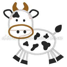 Divas Doodles - Cow