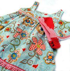 Empirchen: PDF Sewing Pattern: Empirchen #empirchen #pdf-sewing-pattern #smilasworld.com Pdf Sewing Patterns, Drawstring Backpack, Girls, Apron, Tops, Baby, Fashion, Shell Tops, Photoshoot