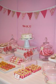 Great candy buffet!