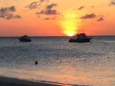 Sun set in Aruba
