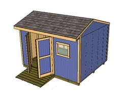Shed Plans - The best shed designs for building sheds and outdoor storage, garden sheds, tool sheds and small barns. Now You Can Build ANY Shed In A Weekend Even If You've Zero Woodworking Experience! Shed Building Plans, Diy Shed Plans, Storage Shed Plans, Wooden Storage Sheds, Wooden Sheds, Shed Blueprints, Shed Construction, Small Barns, Shed Kits